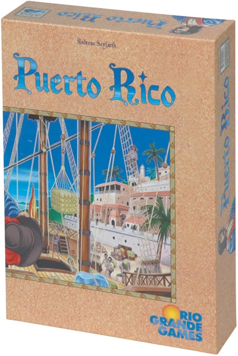 Rio Grande Games RGG195 Puerto Rico Board Game