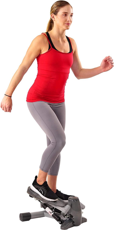 Sunny Health Fitness S0636 Twist-in Stepper Step Machine w LCD Monitor