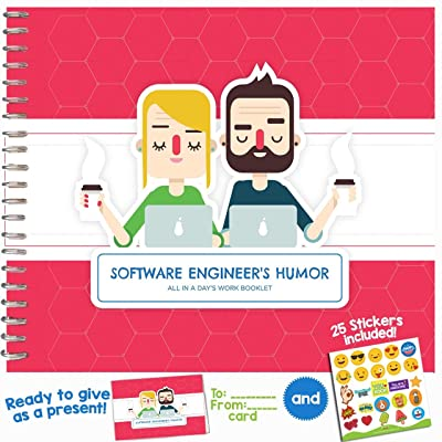 Software Engineer´s Humor Edition - A 24-Page Hardcover Booklet with Funny Quotes and Innovative Designs Makes This Journal The for Your Favorite Computer Programmer, Tech Geek or Coder