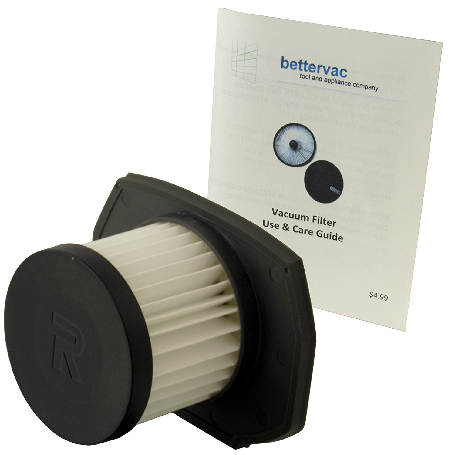 Ryobi 18 Volt Strut Stick Vacuum Air Filter Assembly #313282001 Bundled With Use & Care Guide Techtronic Industries