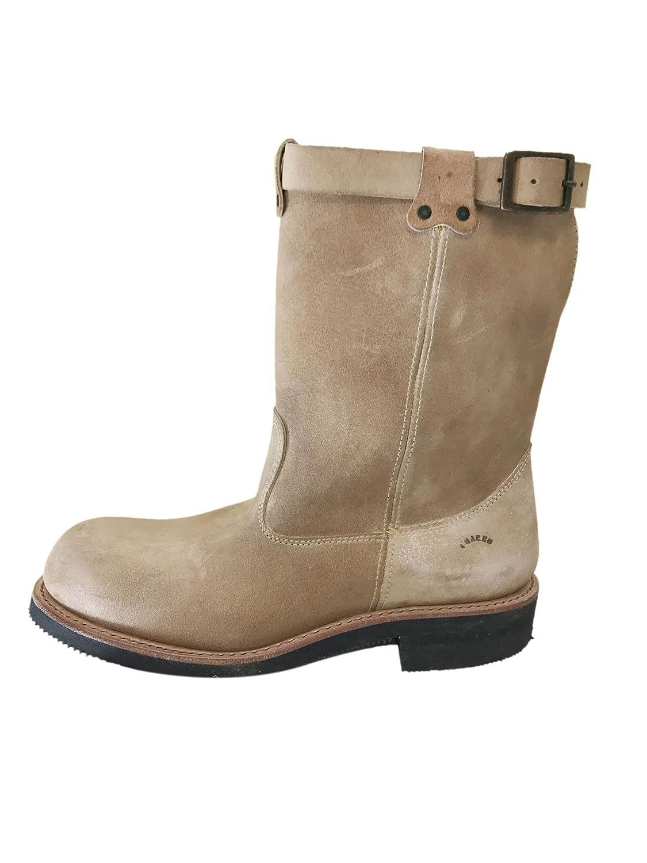 Suede Sand Et El Vintage Chaussures Boots Charro 44 3224 aOtxpv