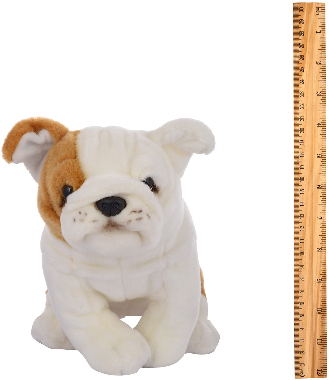 Buy Hamleys Bulldog Soft Toy White 8 inch line at Low Prices