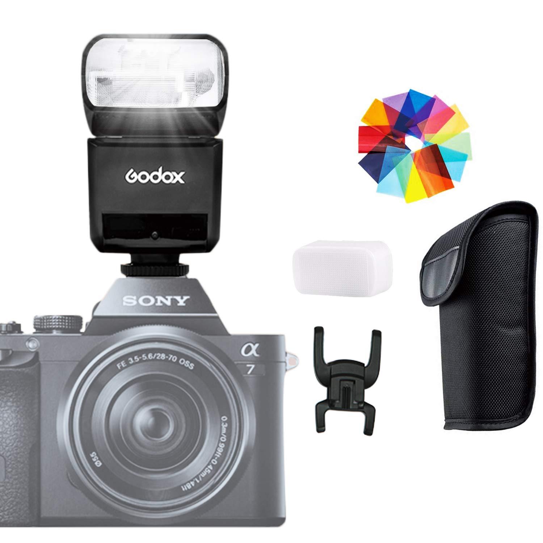 GODOX TT350S 2.4G 1 / 8000s HSS TTL GN36 Camera Speedlite Flash for Sony Mirrorless digital camera