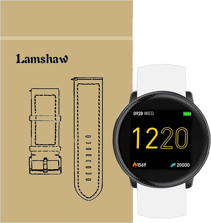 for UMIDIGI Uwatch 2 Band, Blueshaw Sport Silicone Replacement Strap for UMIDIGI Uwatch2 Smartwatch (White)