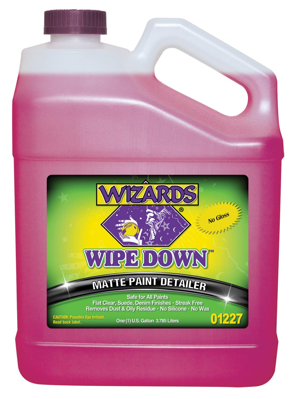 Wizards Quick Detail (Gallon, Wipe Down Matte Detailer)