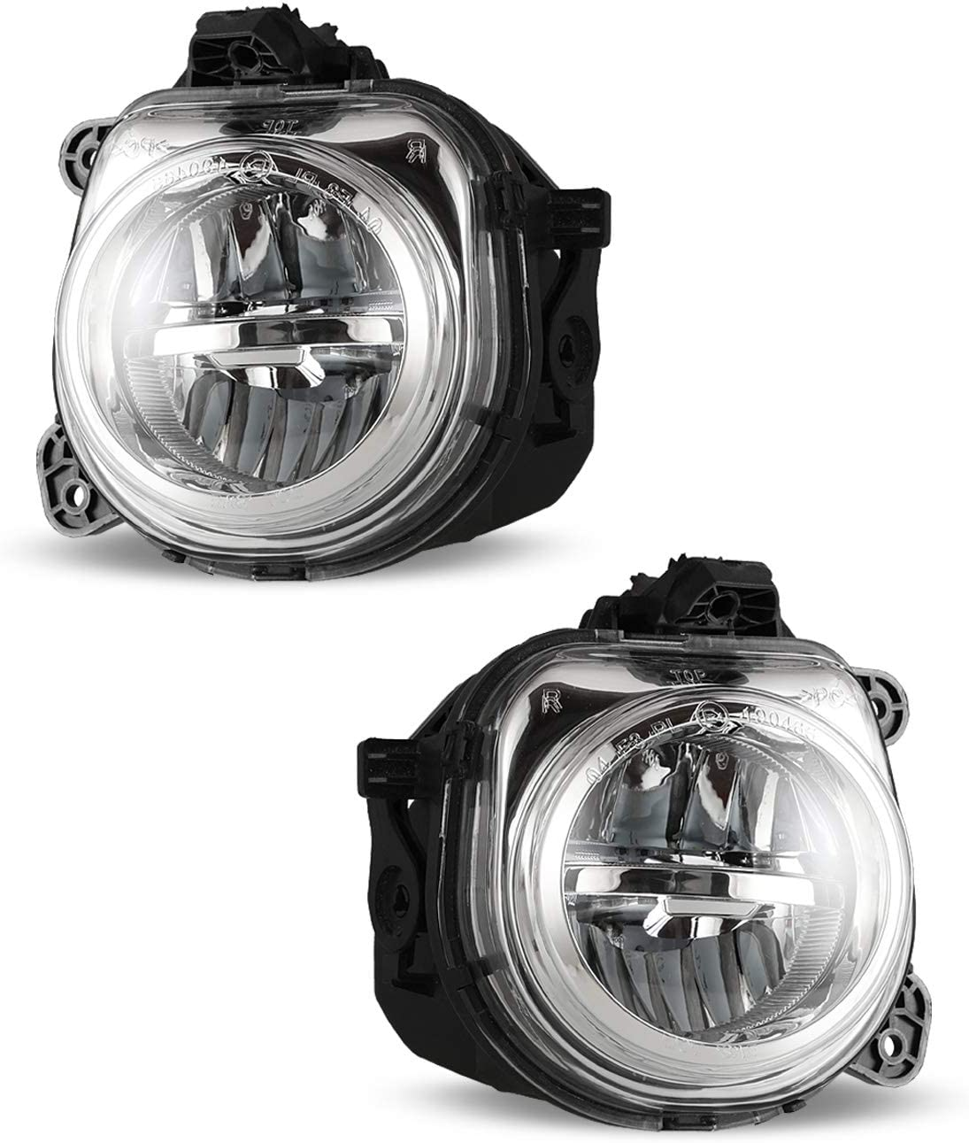 2015-2018 X5//X6 not fit night vision OEM Replacement Fog Lamps AUTOWIKI 16-18 X1 2PCS used in combination with LED head lamps only LED Fog Lights For BMW 11-17 X3 15-18 X4