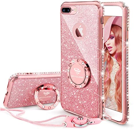 OCYCLONE iPhone 8 Plus Case, iPhone 7 Plus Case, Cute: Amazon.co.uk:  Electronics
