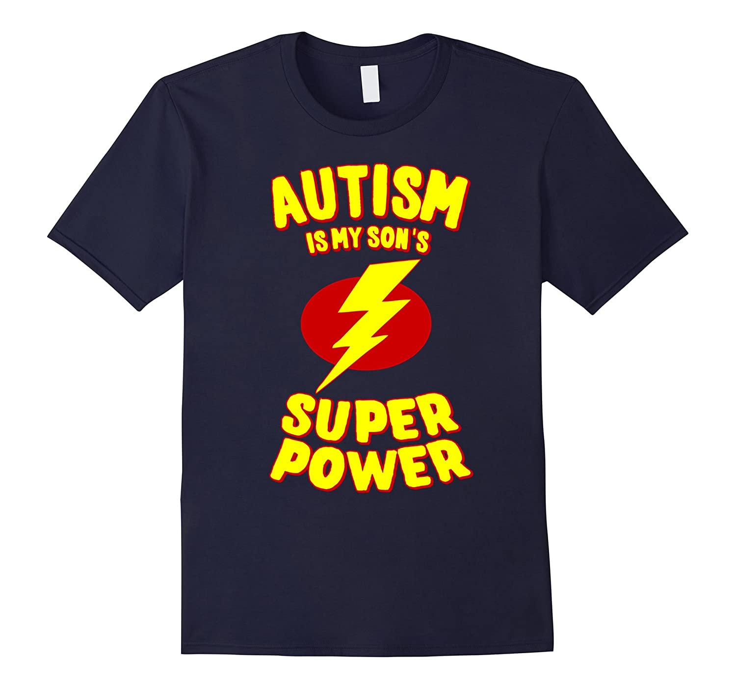 Autism is My Son's Superpower T-Shirt