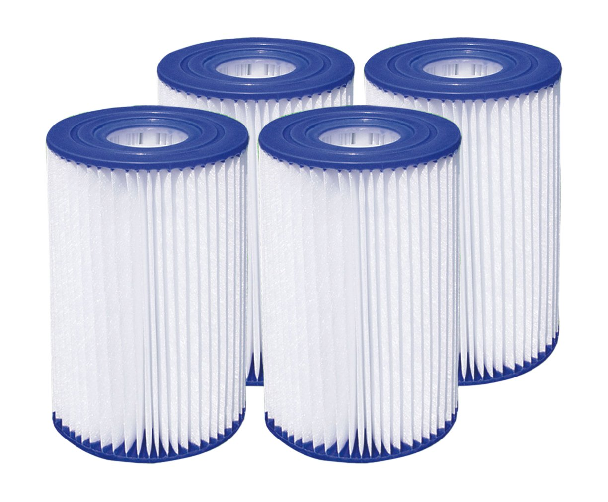 Summer Waves 4.13''x8'' Type A/C Pool Filter Cartridge (4 Pack) by Summer Waves
