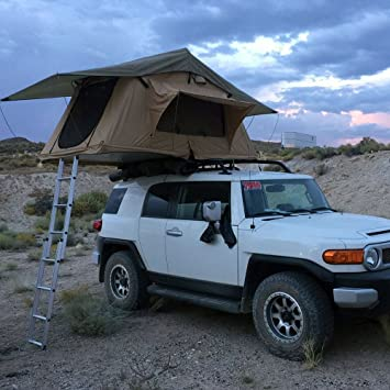 Tuff Stuff u0026quot;Deltau0026quot; Overland Rooftop Tent ... & Amazon.com : Tuff Stuff
