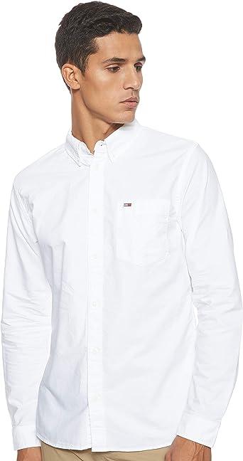 Tommy Hilfiger TJM Classics Oxford Shirt Camisa para Hombre: Amazon.es: Ropa y accesorios