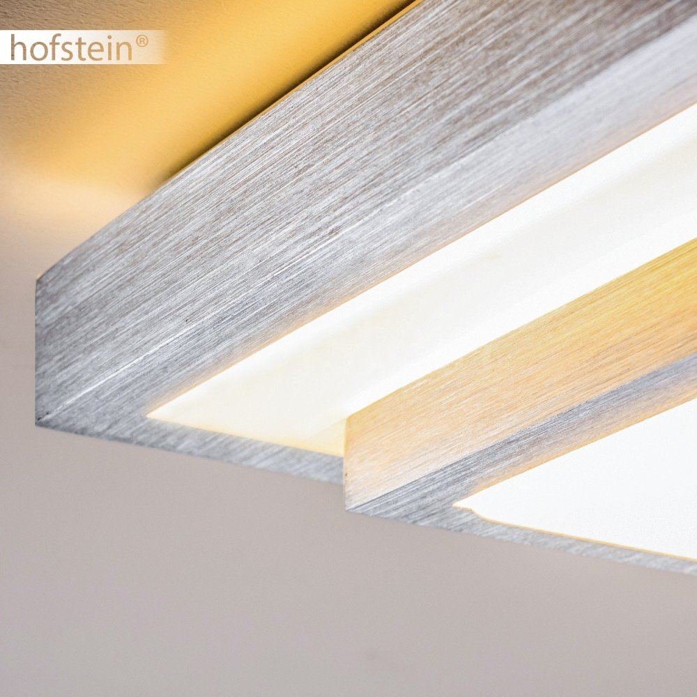 Designer Led Ceiling Light In Square Stylish Warm White For Brushed Satin Chrome Pull Cord Switch Amazoncouk Lighting Bathroom Kitchen Corridor Hallway Dining Room 12 W Ip44 Protection