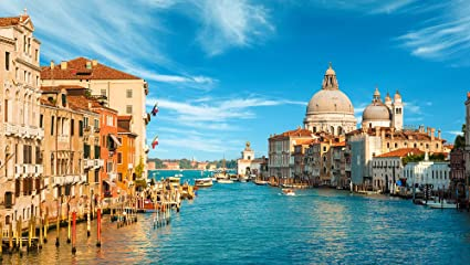 Amazon Com Venice Grand Canal Italy Wallpaper Mural Home