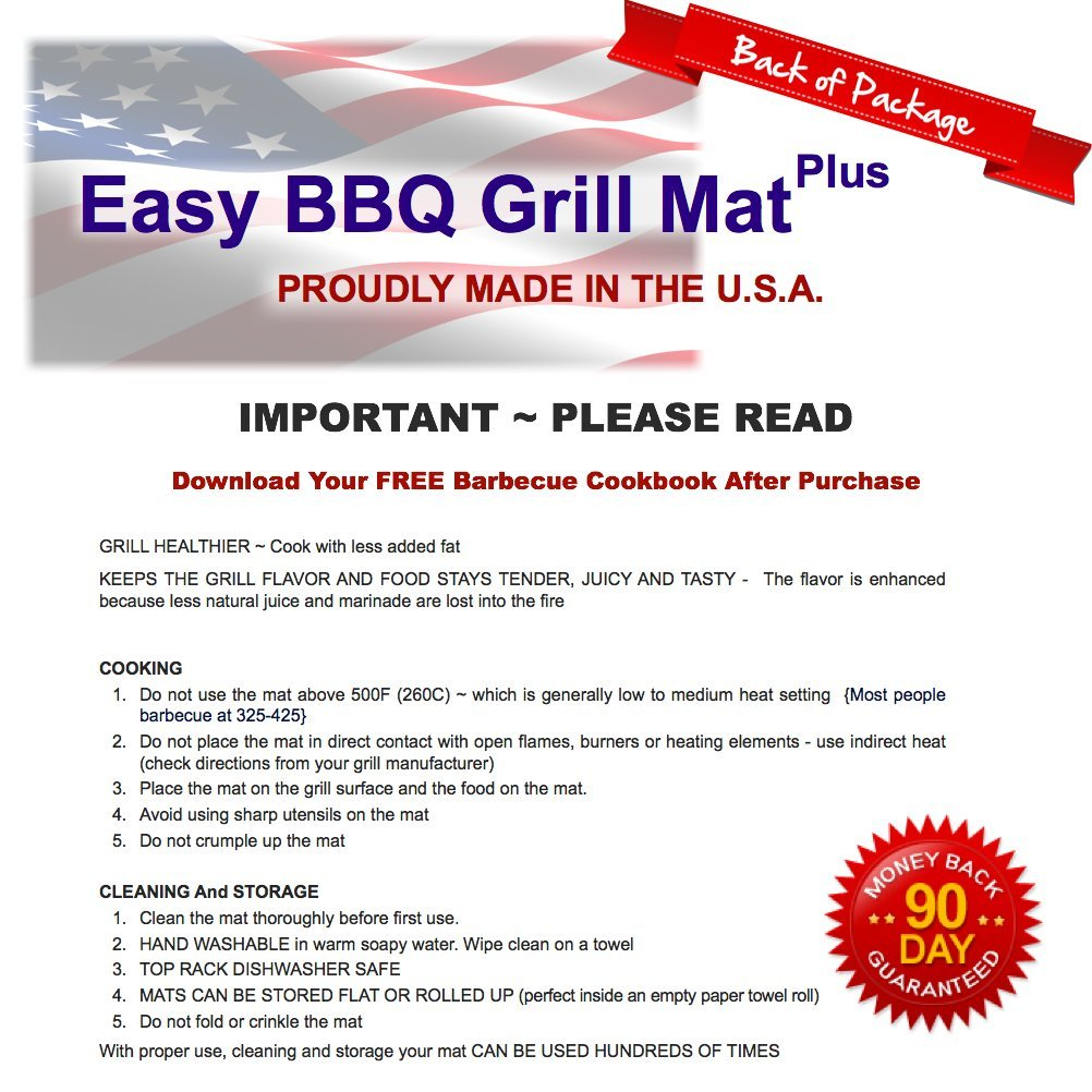 amazon com bbq grill mat made in usa to be one of the best