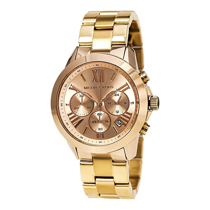 Amazon.com: Michael Kors Runway mk5778 dama: Watches