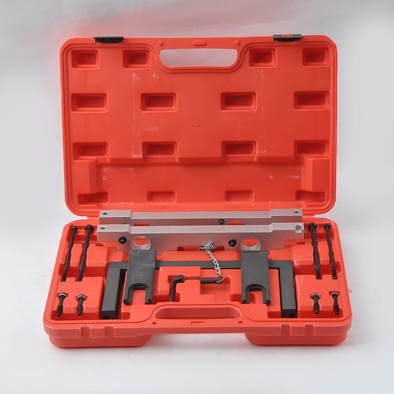 BMW N51 N52 N53 N54 Motor maletín con juego de herramientas de fijación de alineación del árbol de levas: Amazon.es: Coche y moto