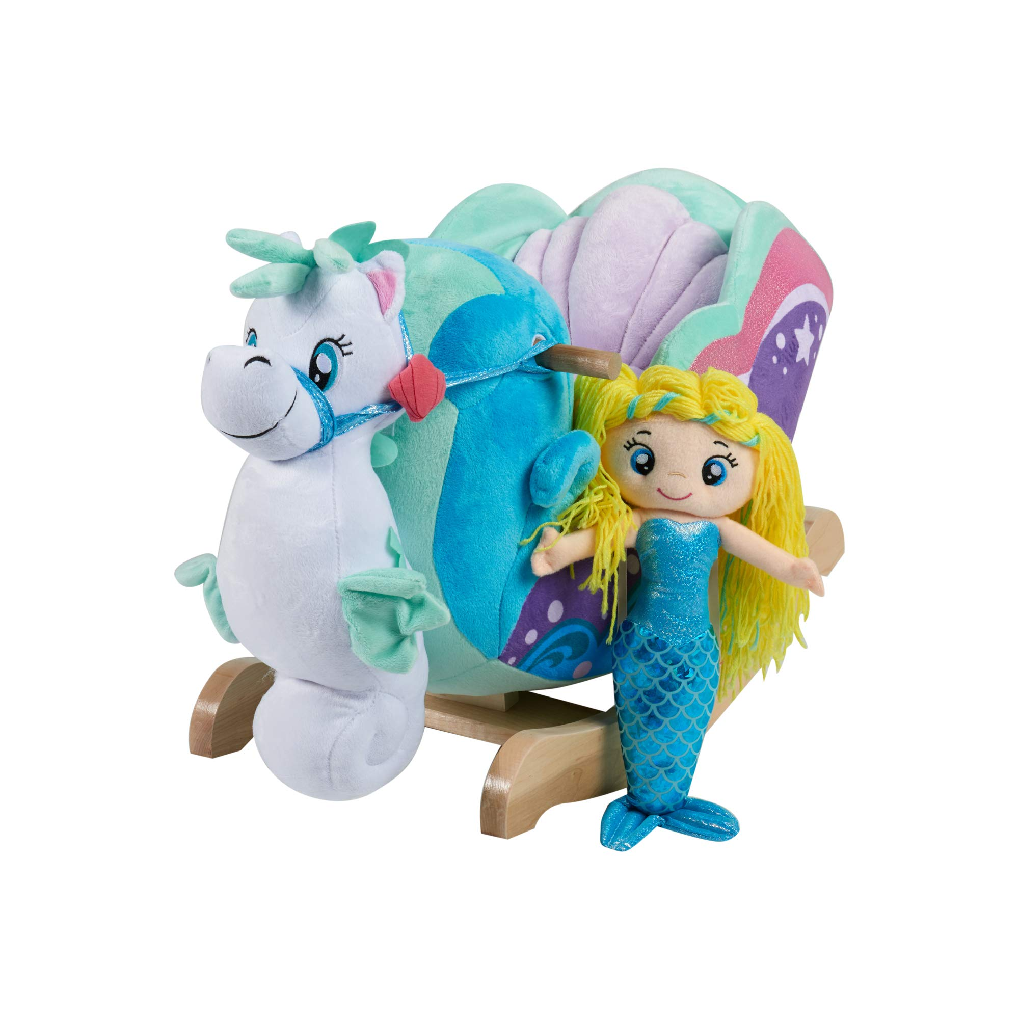 Rockabye Mermaid Princess Carriage (Premium Vehicles)
