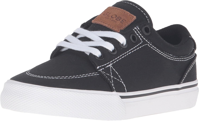 Black//Black//White Sneaker 1 Little Kid M Little Kid//Bid Kid Globe Boys GS