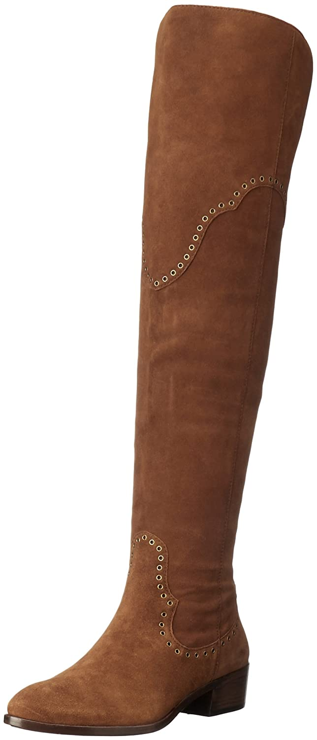FRYE Women's Ray Grommet OTK Slouch Boot B01AJL4RN0 6.5 B(M) US|Wood
