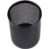 Cosanter Noir métal fil crayon tasse pot stylo support Desk Tidy 10cmx8cm