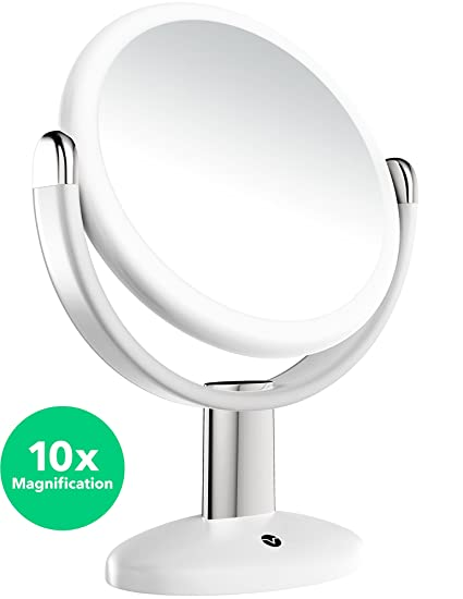 Vremi 10x Magnified Vanity Mirror   7 Inch Round Makeup Cosmetic Mirror For  Bathroom Or Bedroom