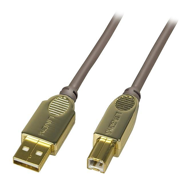 2 opinioni per Lindy 37688 Cavo USB 2.0, A/B, 3m, Antracite