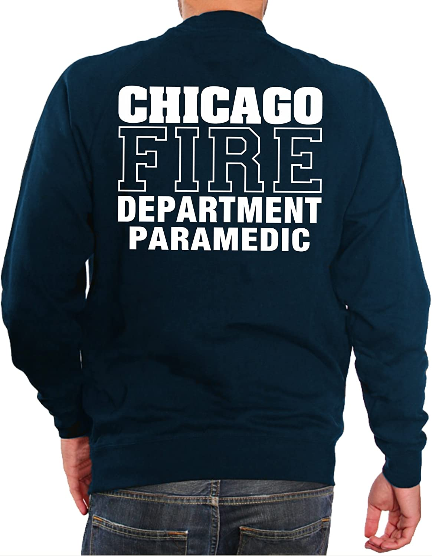 Felpa Navy Chicago Fire Dept Paramedic