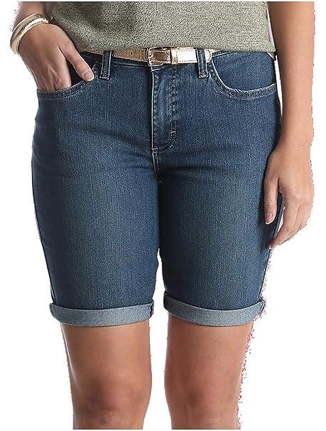 Amazon.com: LEE Riders Bermuda - Pantalones cortos vaqueros ...