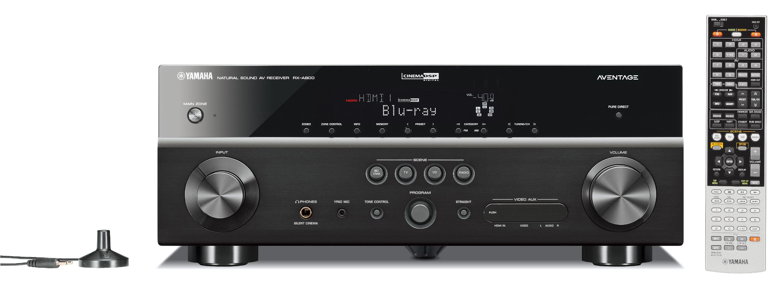 Yamaha RX-A800 7.1-Channel Audio/Video Receiver (OLD VERSION) (Discontinued by Manufacturer) by Yamaha