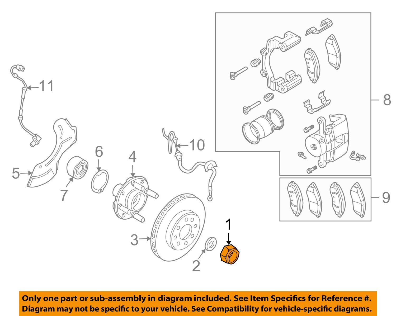 Axle Nut General Motors 94515437