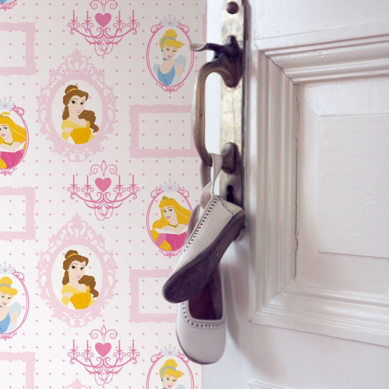 Graham & Brown 71799 - Carta da parati con principesse Disney in ...