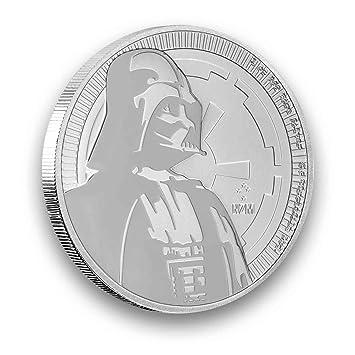 1 Unze Oz Silber Niue 2017 Darth Vader Star Wars Neuseeland