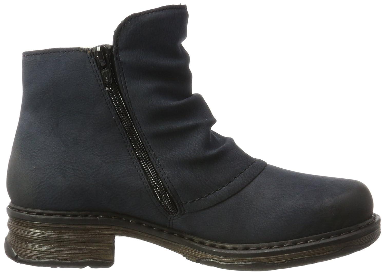 Rieker Damen Blau Z9963 Stiefel Blau Damen (Pazifik/Brandy) b31d48