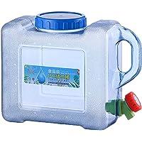 5L / 8L Contenedor De Agua Portátil, Bidón Plástico con Grifo Contenedor De Almacenamiento De Agua con Tapa Y Grifo para…
