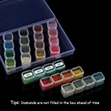 28 Colors Diamond Painting Drills Kits with 28