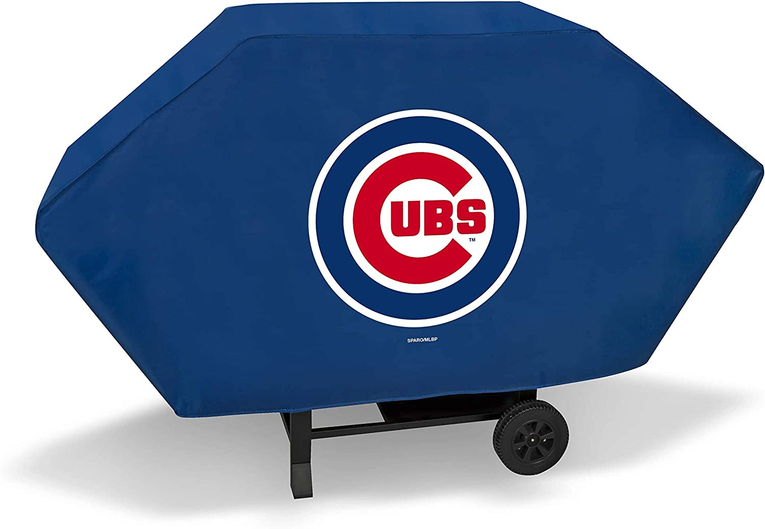 Rico Industries Cubs Executive Grill Cover Blue
