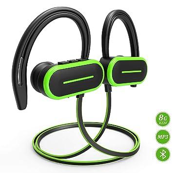 Auriculares Bluetooth, auriculares HSPRO Bluetooth, IPX5 a prueba ...