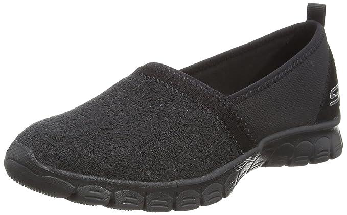 Skechers Ez Flex 3.0-Quick Escapade, Zapatillas sin Cordones para Mujer