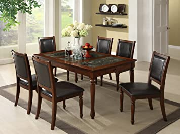 Monte Carlo Dining Table In Rich Cherry