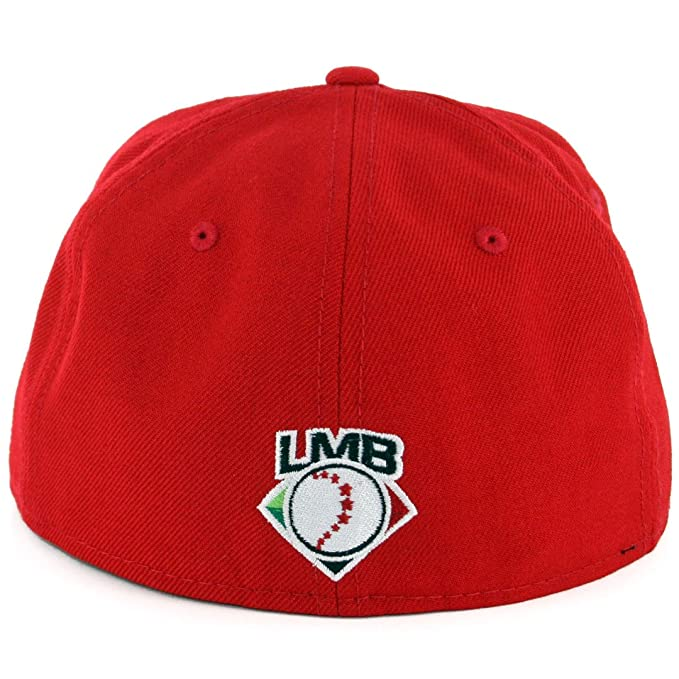 New Era 5950 Diablos Rojos del Mexico Fitted Hat (Scarlet Red) LMB Baseball  Cap at Amazon Men s Clothing store  da6767470a8