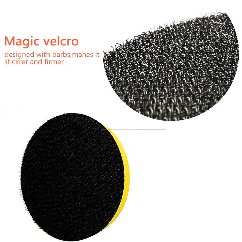 Polishing,Waxing,Sealing Glaze Polishing Buffer Wool and Magic Paste Wheel Polishing Pad Woolen Polishing Waxing Pads Kits NewSoul1us 8 Pack Compound Drill Buffing Sponge Pads Kit for Car Sanding 7
