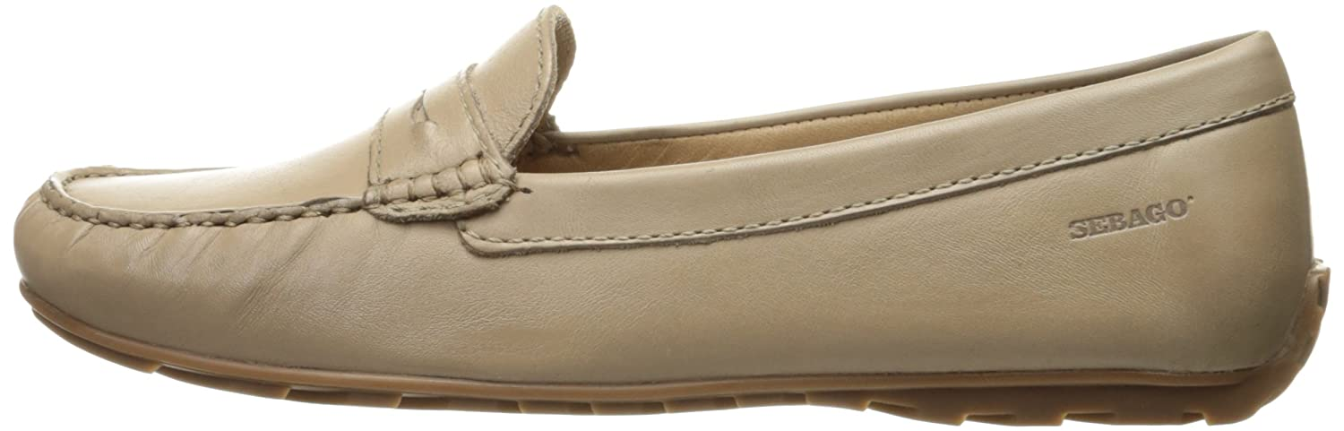 Sebago Women's Harper Penny Ballet Flat B01INA5BSO 9 B(M) US|Taupe Leather