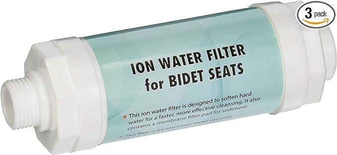 3-Pack Clean Sense Spa-SF-3 Bidet Seat Sediment Water Filters