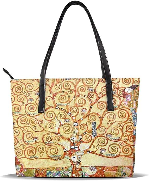TREE OF LIFE Gustav Klimt Art Print Bag Purse Tote S Small