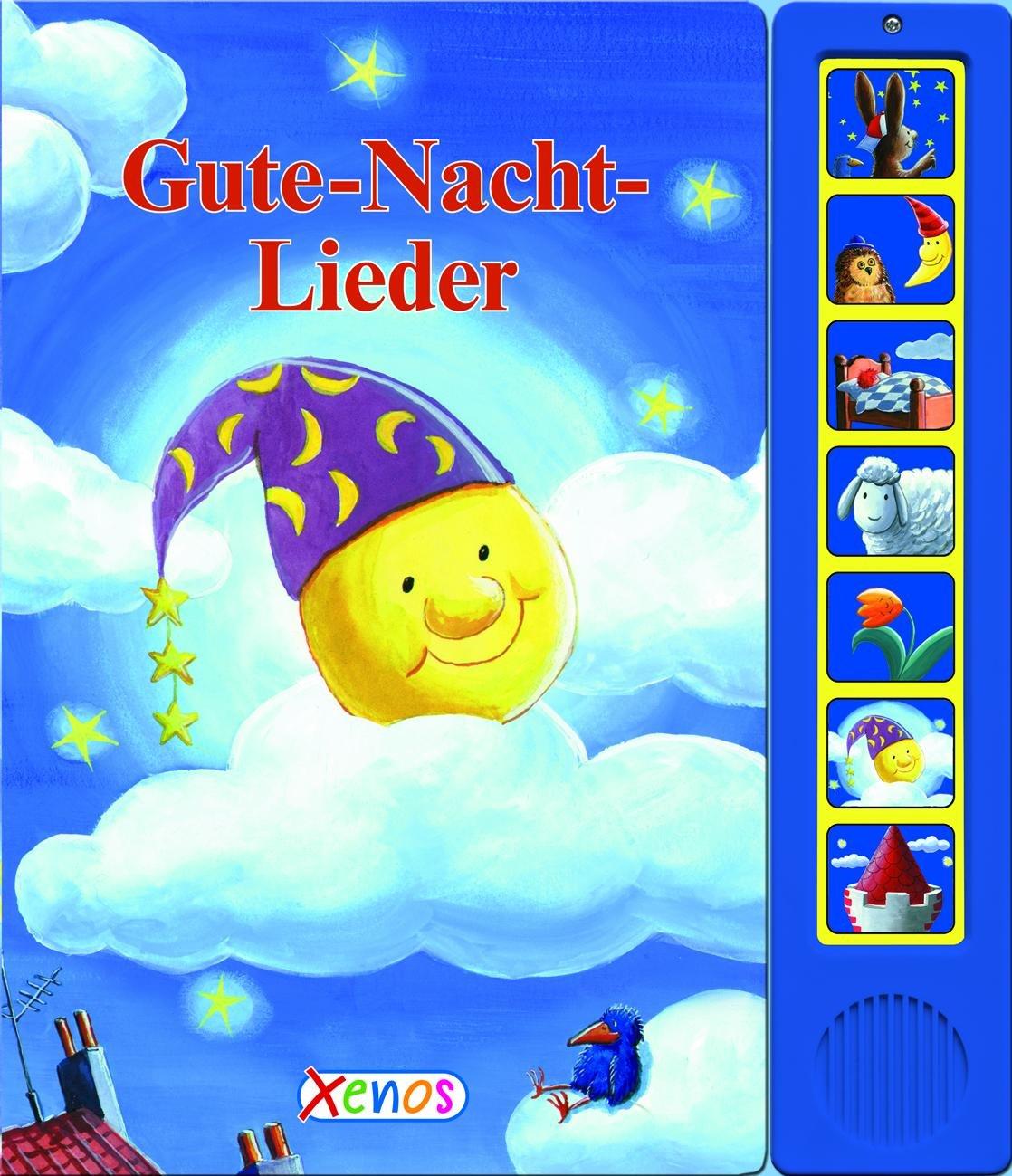 Gute-Nacht-Lieder mit Soundleiste: Soundbuch