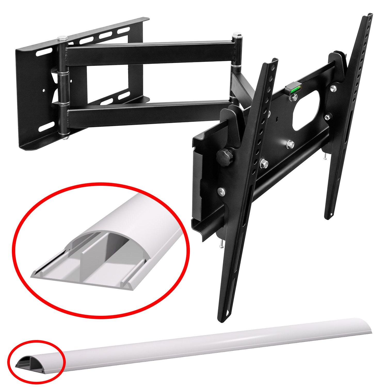 M & G Techno TV Pared orientable extensible +/-15 ° Adecuado para TV y monitores hasta 160 cm diagonal (63 pulgadas) con normas VESA en cm: 10 x 10, ...