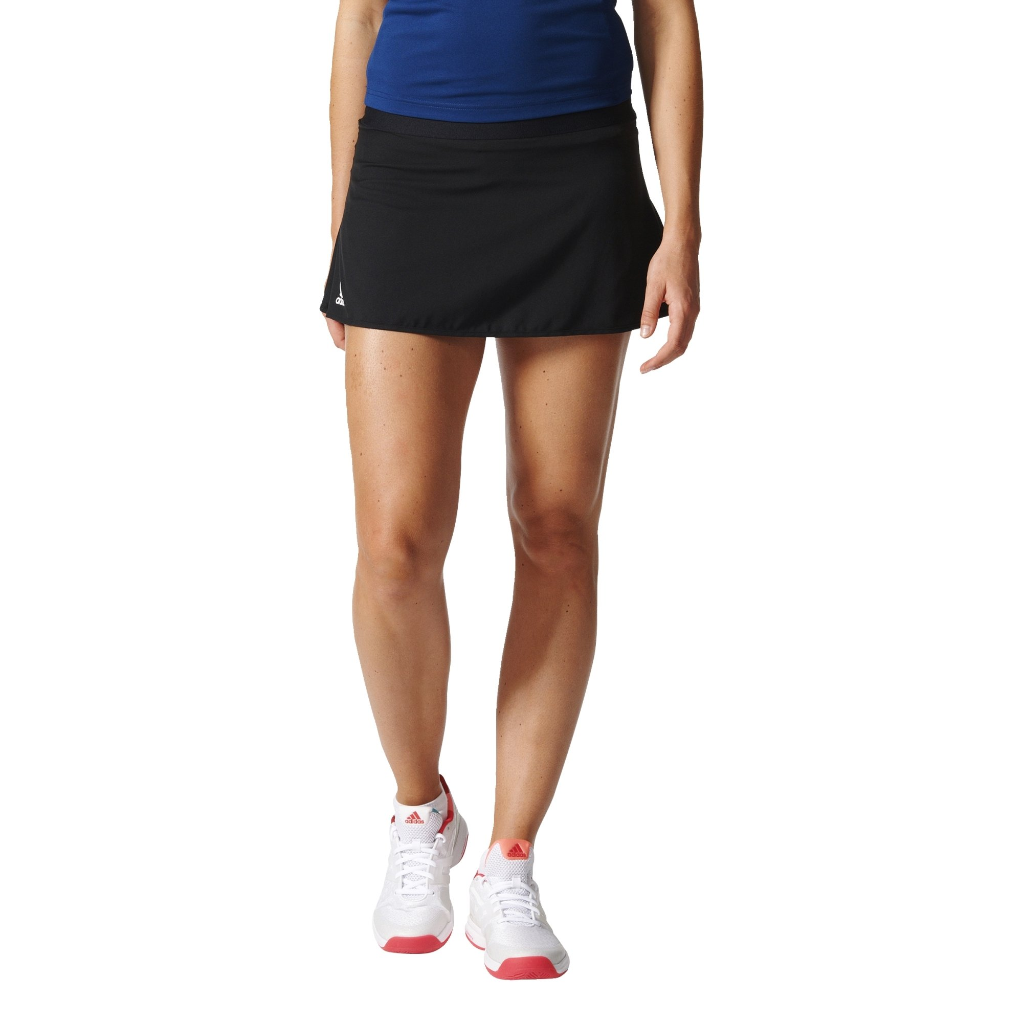 adidas Women's Tennis Club Skirt, Black, Large