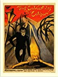 RetroArt Cabinet of Dr Caligari, Vintage Movie Poster (30x40cm Art Print)