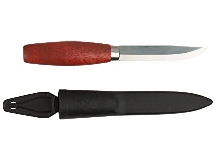 Amazon.com: Morakniv Classic No 1 Wood Handle Utility Knife ...