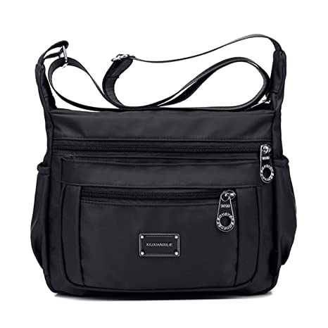 6cea3f4919eb TOP-UP Nylon Crossbody Bags for Women with Pockets,Water Resistant, Easy  Clean